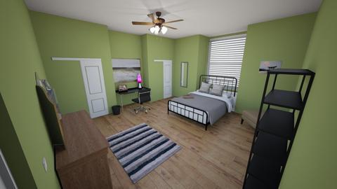 grace room plan - Bedroom  - by grackwhack