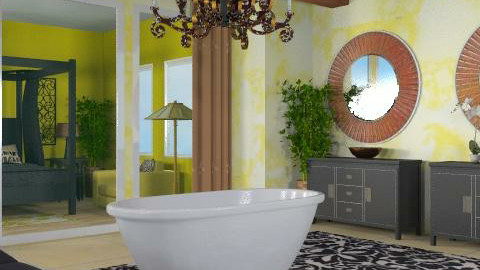 Home Spa - Eclectic - Bathroom  - by channing4