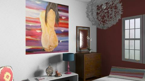 Scribble - Eclectic - Bedroom  - by hunny