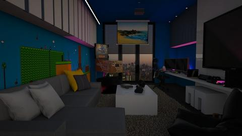 gamer room - by lais baptista