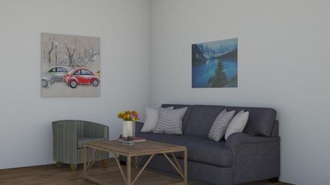 organic living room - Living room  - by little_designer