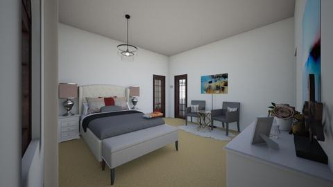 SJbedroom - Modern - Bedroom - by Stephanie Felix