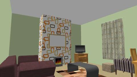 sleevey - Retro - Living room  - by sleevey75