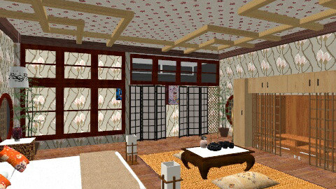 Japanese Room - Classic - Bedroom - by perfectpanda37
