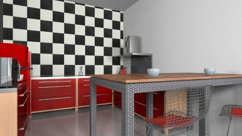 kitchen - Retro - Kitchen  - by mire roig