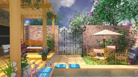 Small Yard - Garden  - by Bibiche