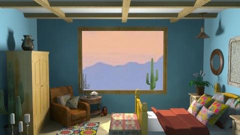Arizona - Rustic - Bedroom  - by lysha