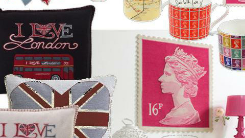 Union Jack and Stamps - Vintage - by mydeco Insider