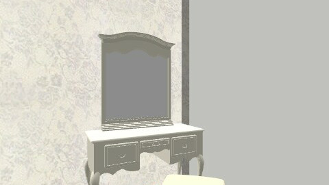 myroom - Vintage - Bedroom  - by vlille