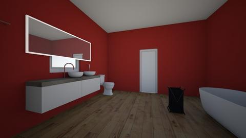 monochromatic number 3 - Bathroom  - by Ransu2021