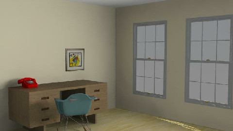 retro room - Retro - Office  - by Ali_b