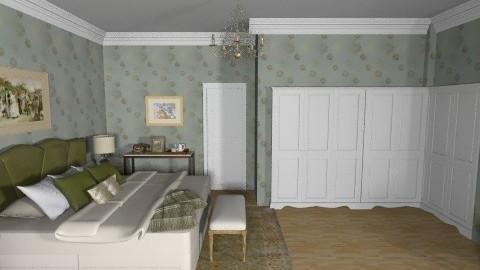 Grandparents - Vintage - Bedroom  - by chloedaniella