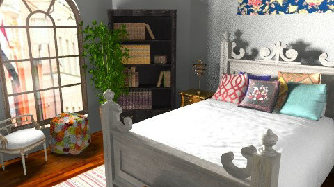 Marina - Eclectic - Bedroom  - by allysonrose