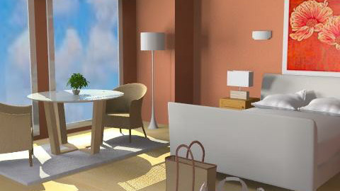 Arrive in MIA - Eclectic - Bedroom  - by channing4