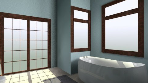 relaxing bathroom - Minimal - Bathroom  - by pomgirl8