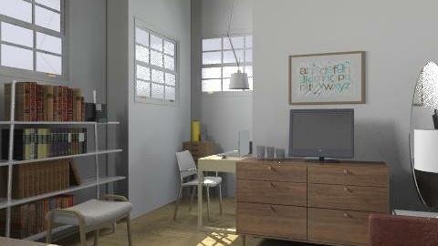 Studio Loft - Retro - Kitchen  - by ANNABB