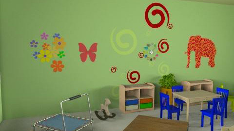 paud rusa - r1v3 - Country - Kids room  - by aryantono