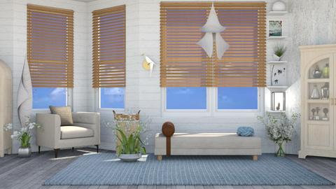 By the sea 2 - Modern - Living room  - by augustmoon