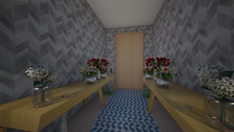 Christmas Hallway  - Modern - Living room  - by Pugzilla369