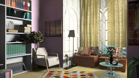 reading room - Eclectic - by lavilavinia