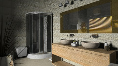 calme - Glamour - Bathroom  - by Hanane Haidoune