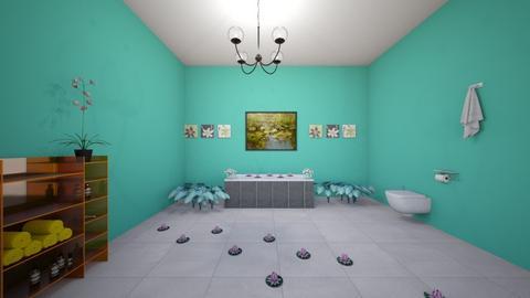 lily pond bath - Bathroom  - by kaylee925