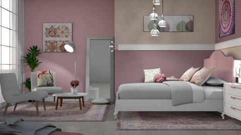 M_ Davon - Bedroom - by milyca8