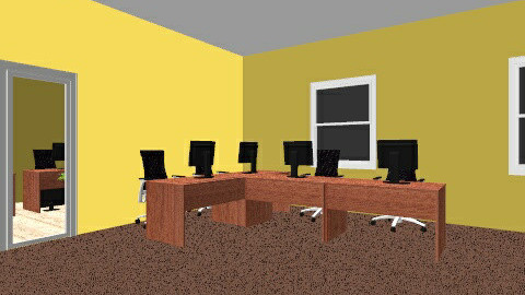 New office - Minimal - Office  - by Odrie