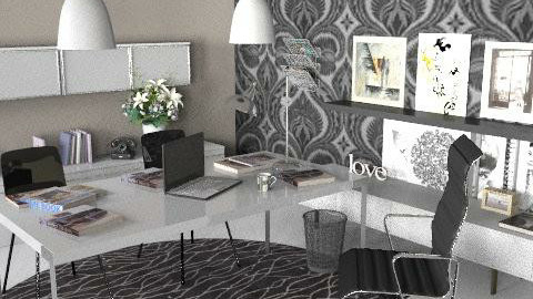 Office Design Project - Modern - Office  - by laurawoodley