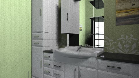 Bath angle 3 - Eclectic - Bathroom  - by atomheartrin