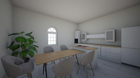 k1 - Kitchen  - by anaztazia89