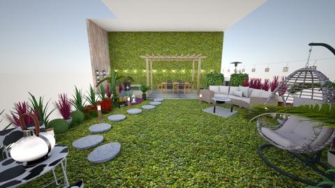 Terrazas Verdes  - Rustic - Garden  - by valesita07