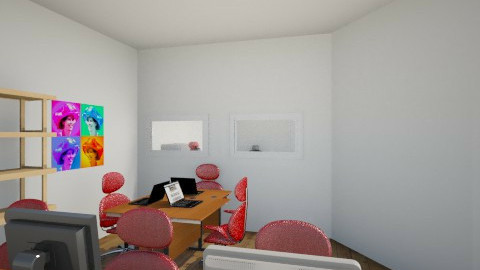 CGI office - Minimal - Office  - by amarah