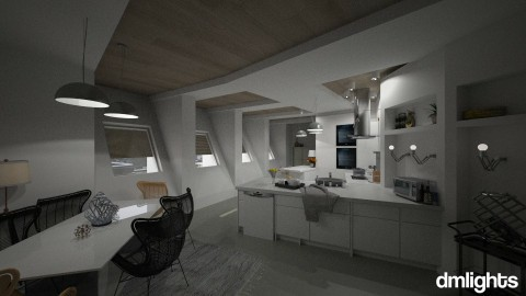 Middlesbrough - Modern - Kitchen  - by DMLights-user-991288