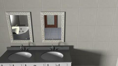 ohlalla - Minimal - Bathroom  - by Fanni95