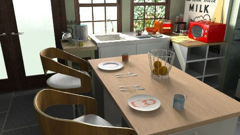 Cool Kitchen - Retro - Kitchen  - by Mappede