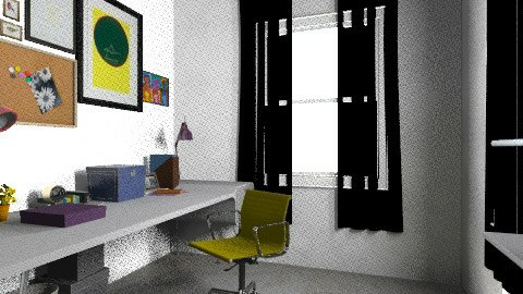 working rooms last5 - Vintage - Office  - by bellabravis