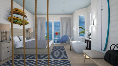 The Sea Room - Eclectic - Bedroom  - by 3rdfloor