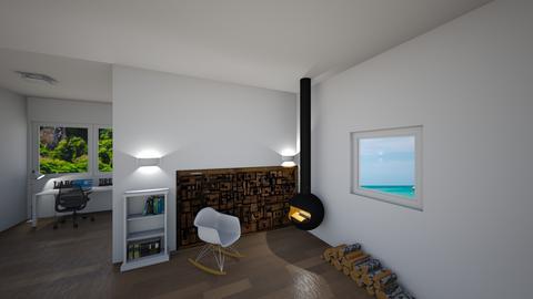 Fireplace_chilling  - by saratevdoska