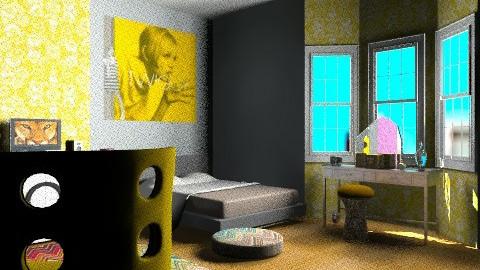 Twiggy - Retro - Bedroom  - by mrschicken