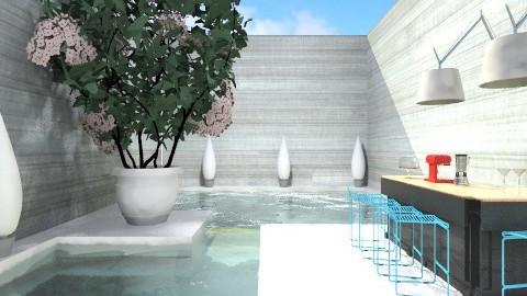 Splash Bar - Modern - Garden  - by 3rdfloor
