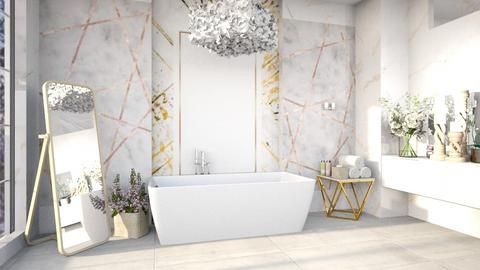 bathroom - by nihalruttala