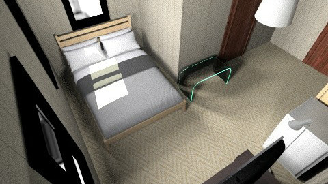 Hotel - Rustic - Bedroom  - by Daniel Keane