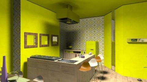 world - Retro - Kitchen  - by LaurentiuBarzoi