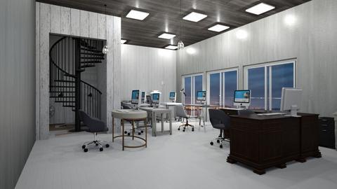 night office - Modern - Office  - by malithu damsath