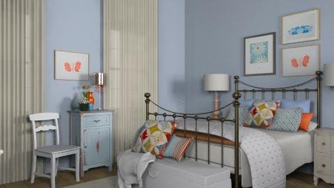 Bedroom for Katherine - Vintage - by jenshadow_222