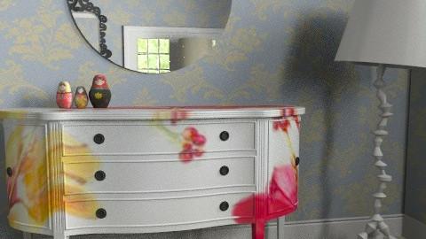 Afternoon Room copy2 - Vintage - Living room  - by Nadeige