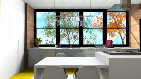 YelloWood Kitchen - Modern - Kitchen  - by 3rdfloor
