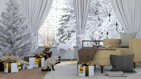 Mornings in December - Classic - Living room  - by millerfam