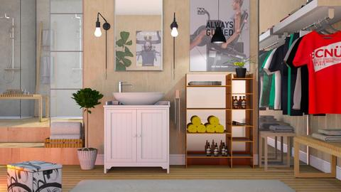 Changing Room - Eclectic - Bedroom  - by Sally Simpson